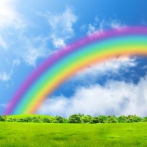 Бог у кольорах веселки (для дітей четвертого року життя)